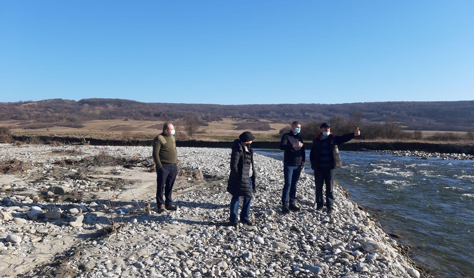 Întâlniri cu proprietarii de terenuri de pe malul râului Gilort