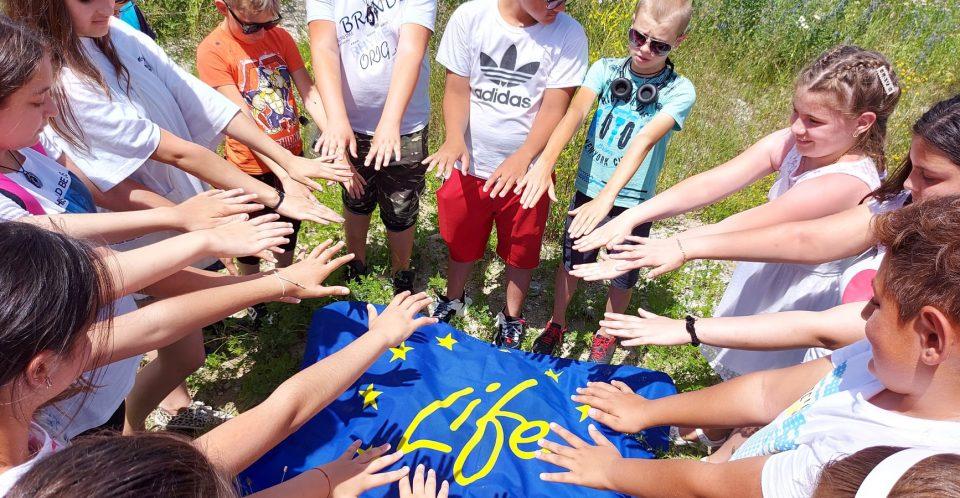 Activități educaționale pe râul Gilort